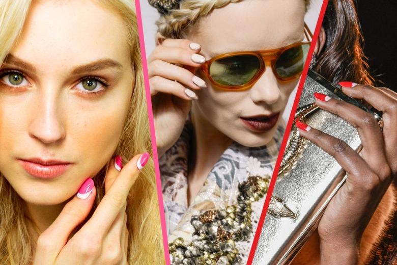 La french manicure si reinventa: tutte le varianti da provare