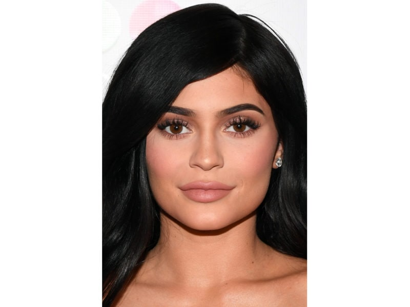 kylie jenner trucco