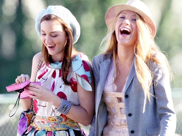 Gossip Girl risate