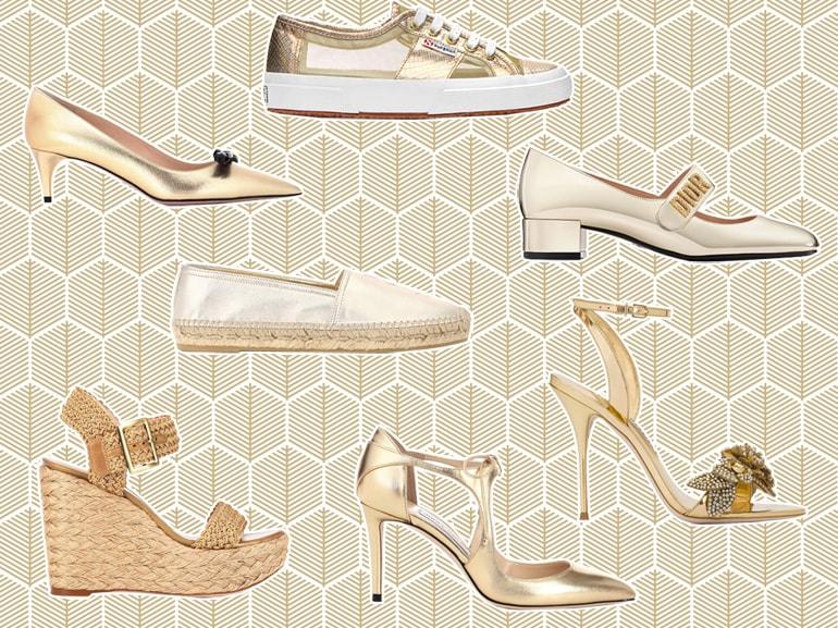 MOBILE_scarpe_dorate