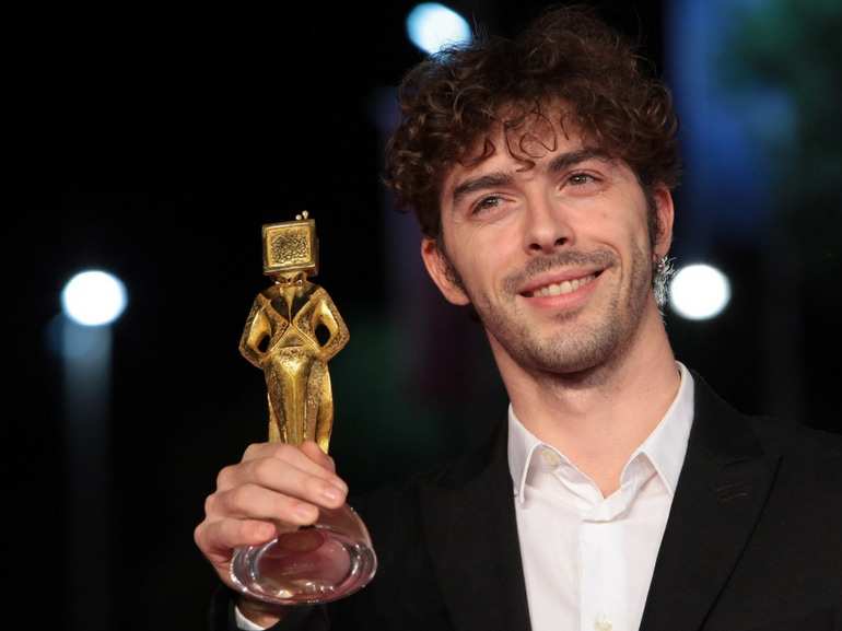 Michele Riondino attore tarantino padrino Festival Cinema Venezia 2018 Il giovane Montalbano (7)