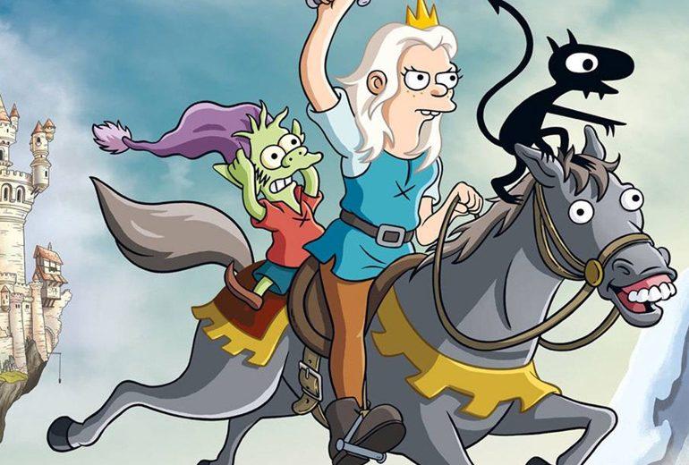 Cosa dovete sapere su Disincanto, il nuovo cartone del papà dei Simpson