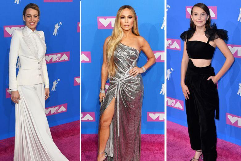 MTV Video Music Awards 2018: i look delle celeb sul red carpet