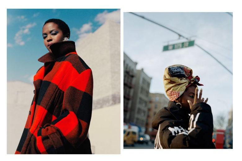 """Lauryn Hill volto e """"voce"""" della campagna autunno inverno 2018 di Woolrich"""