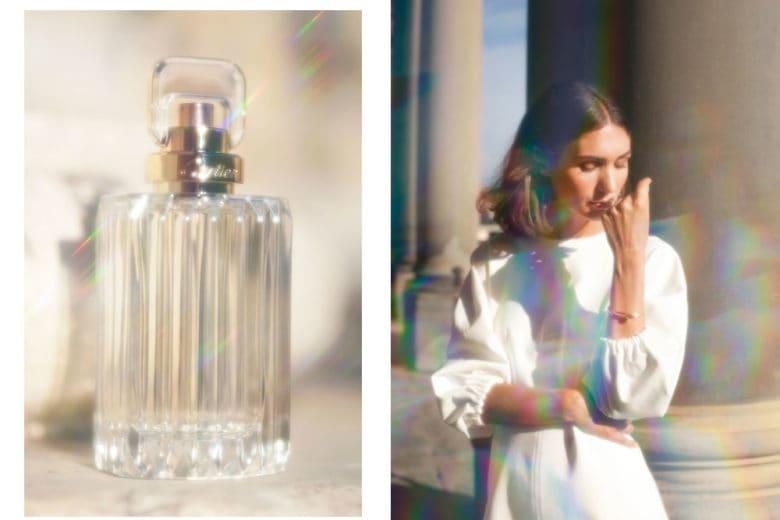 Diletta Bonaiuti: «Cartier CARAT, il profumo che parla di me»