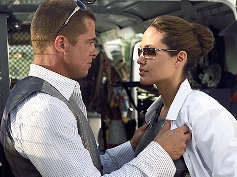 Brad Pitt e Angelina Jolia coppia