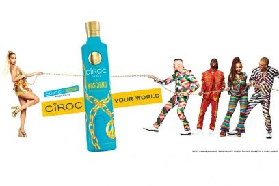 CÎROC x MOSCHINO limited-edition: il lusso dentro e fuori la bottiglia