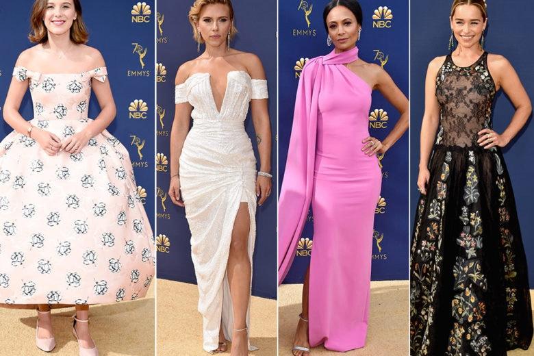 Emmy Awards 2018: gli abiti più belli sul red carpet