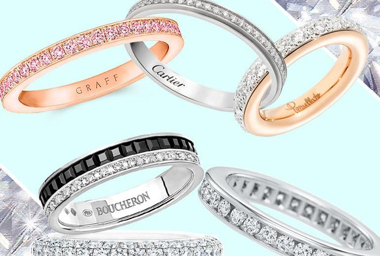 Fedi nuziali con diamanti: i modelli più belli