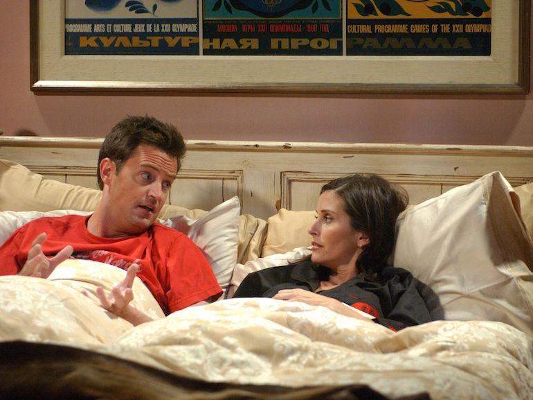 Chandler e Monica Friends