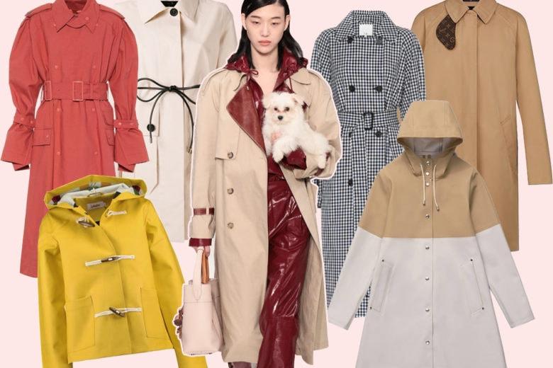 Trench e raincoat: 11 modelli top da scegliere quest'autunno