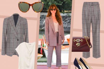 Completo check: ecco come lo indossa Dakota Johnson (e come piace a noi!)