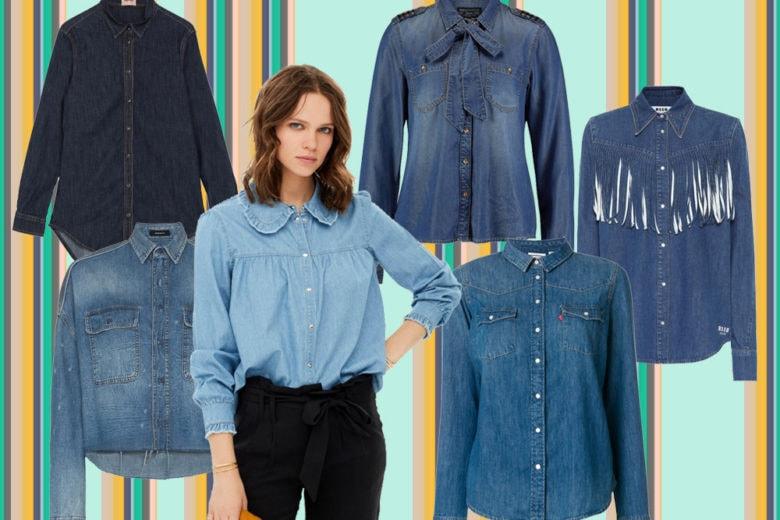 Camicie di jeans: 10 modelli da mettere subito in wishlist