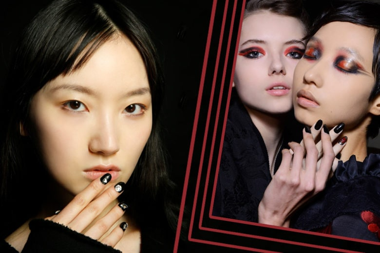 Dark nails: la tendenza unghie su cui puntare
