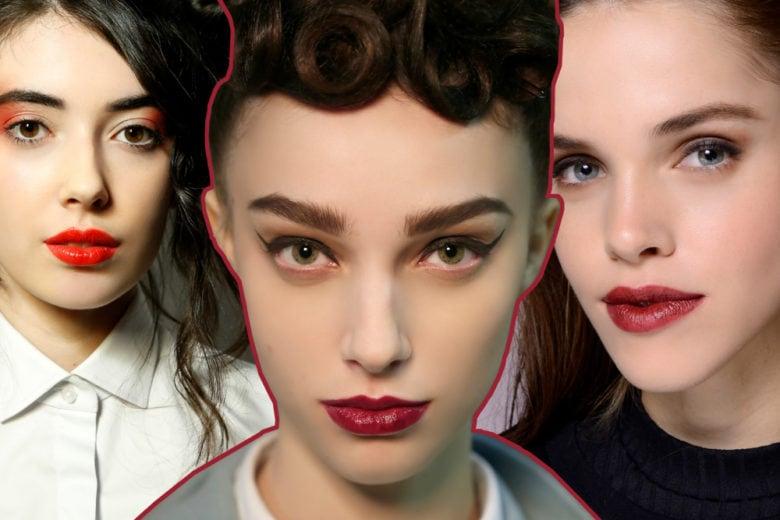 Labbra rosse: come le indosseremo in questa stagione