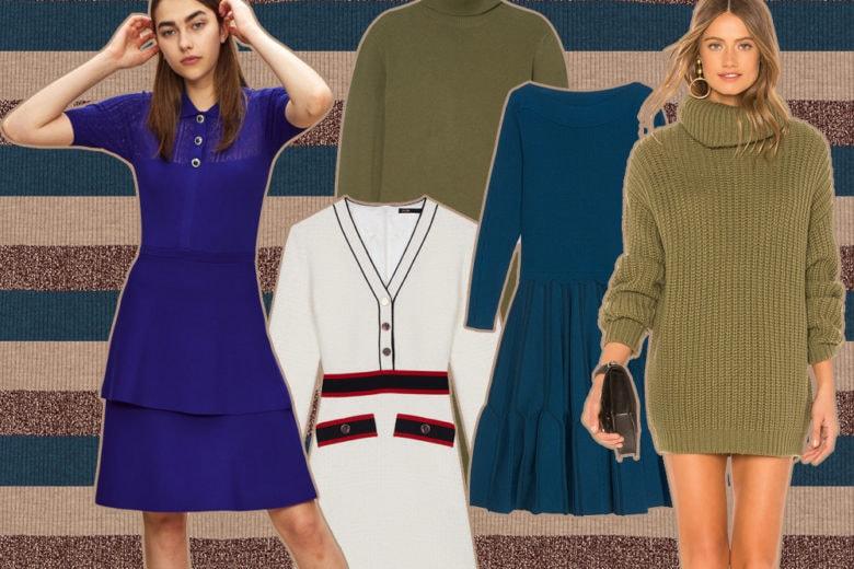 Abiti in maglia: ecco i modelli più caldi e avvolgenti in vista dell'inverno!