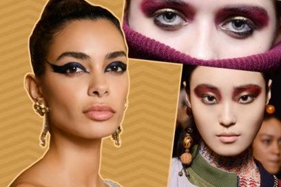 Trucco occhi metallizzato: i metal eyes per un make up metallico da passerella