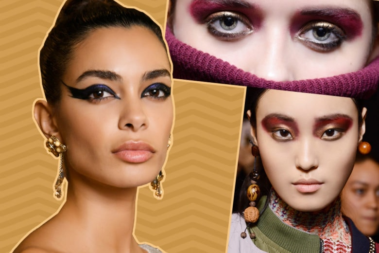 Trucco occhi metallizzato: i metal eyes per un make up metallico da passerella