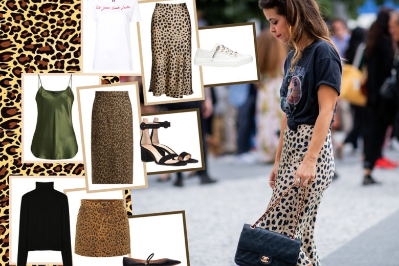 Come abbinare la gonna leopardata: 5 idee look perfette per l'autunno