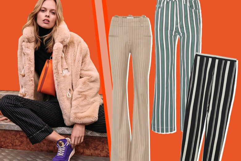 A volte ritornano (per la nostra felicità): i pantaloni a righe sono il nuovo trend autunno 2018