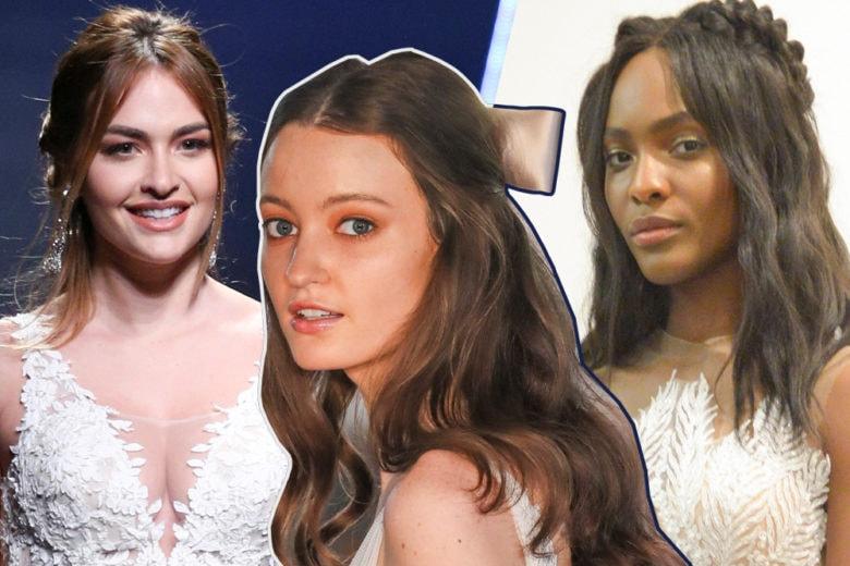 Acconciature capelli semiraccolti sposa: le idee più glam per il 2019