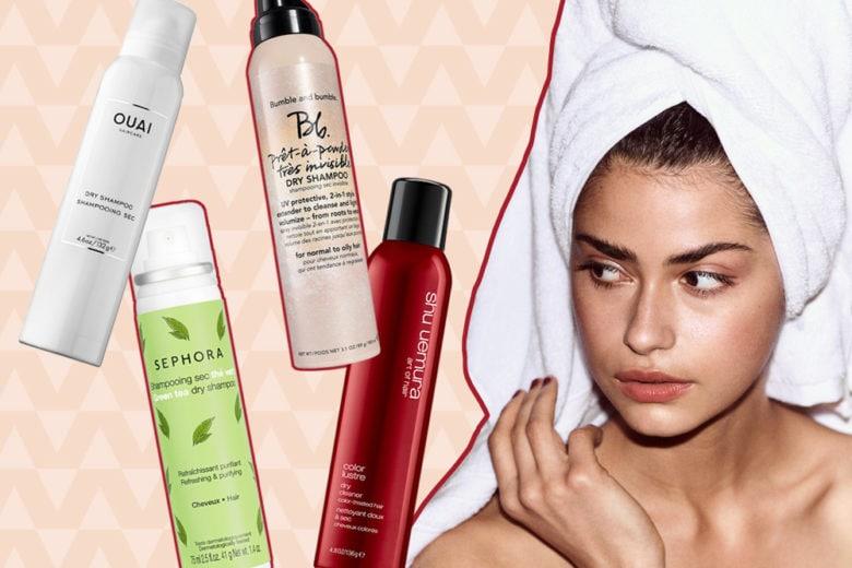 Shampoo secco: ecco quelli che prolungano lo styling e danno volume ai capelli