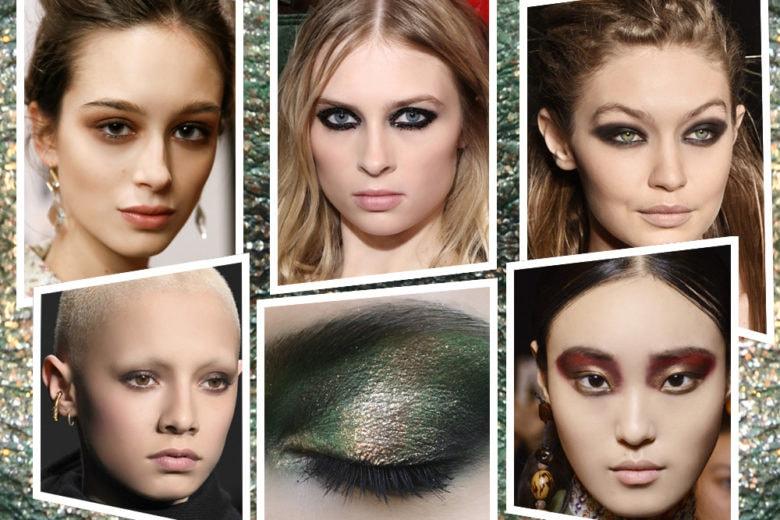 I nuovi smokey eyes di stagione: le texture e i colori su cui puntare
