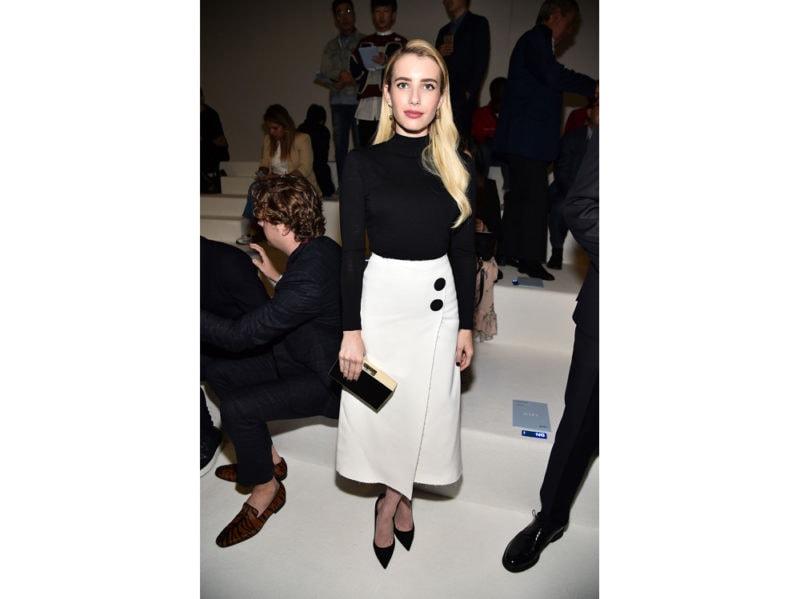 Emma-Roberts-attends-BOSS-Womenswear-&-Menswear