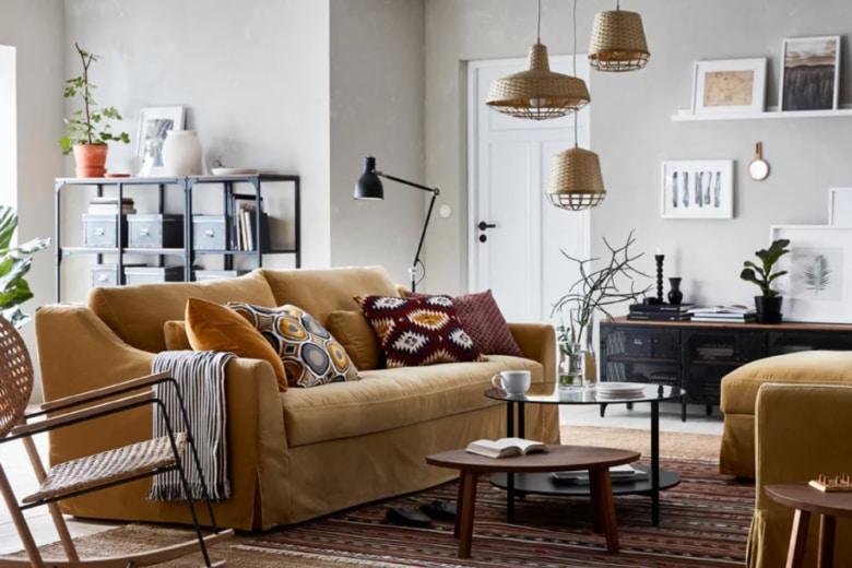 9 idee originali e low cost per rinnovare il salotto
