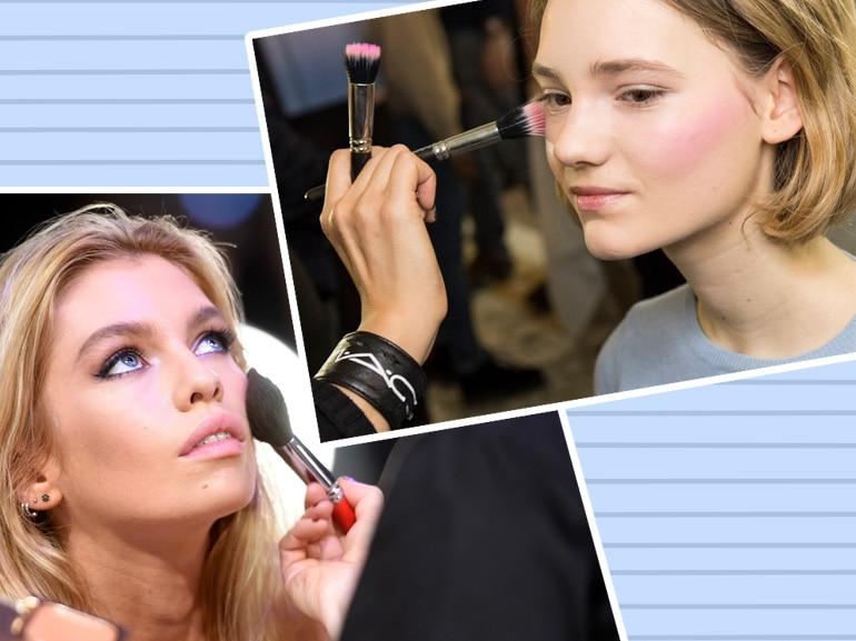 Come applicare il blush a seconda della forma del viso