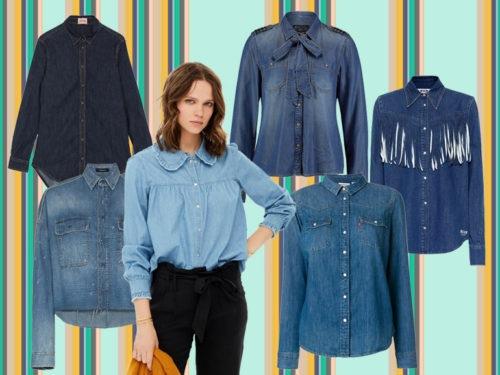 size 40 5136f abfc3 Camicie di jeans: i modelli femminili per l'autunno 2018
