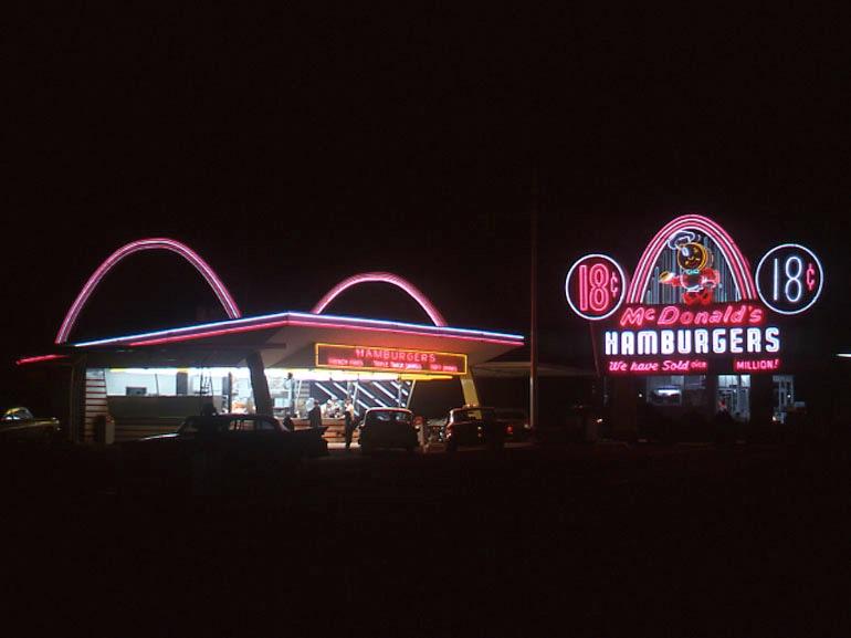 McDonalds di Fresno_anni 60