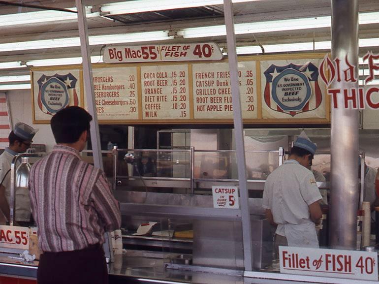 McDonalds di Fresno_anni 70
