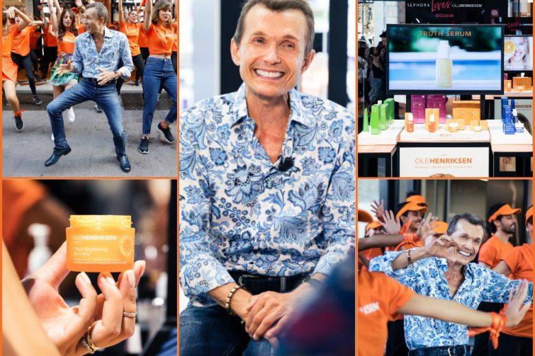 OleHenriksen arriva in esclusiva da Sephora Italia con un travolgente party di lancio a Milano