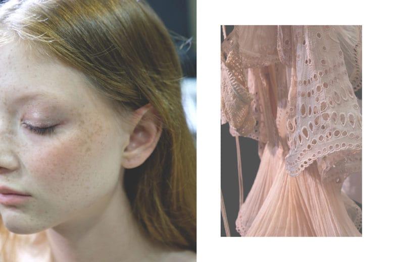 Alberta Ferretti P/E 2019: i raggi del sole come ispirazione del beauty look