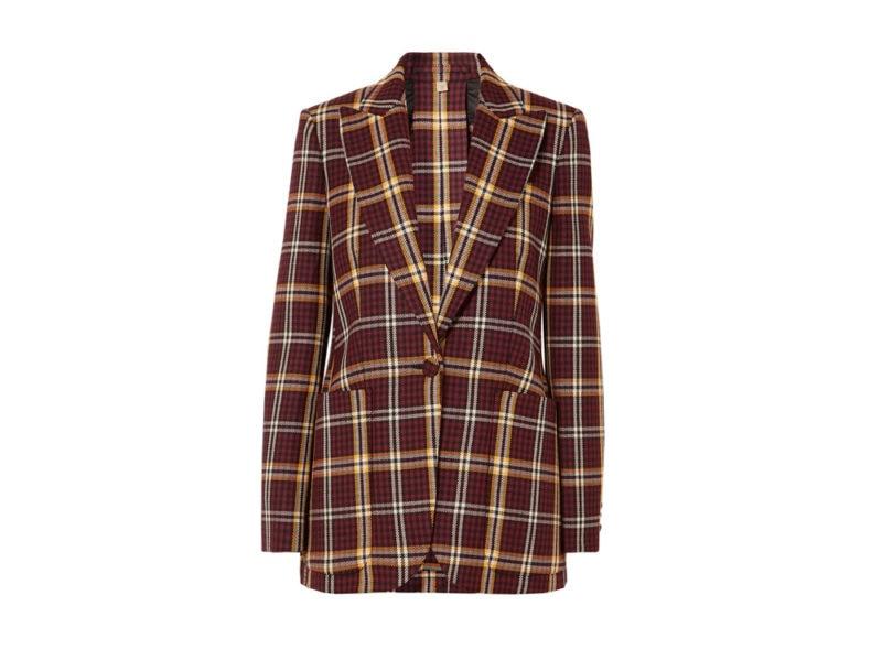 blazer-check-BURBERRY-net-a-porter