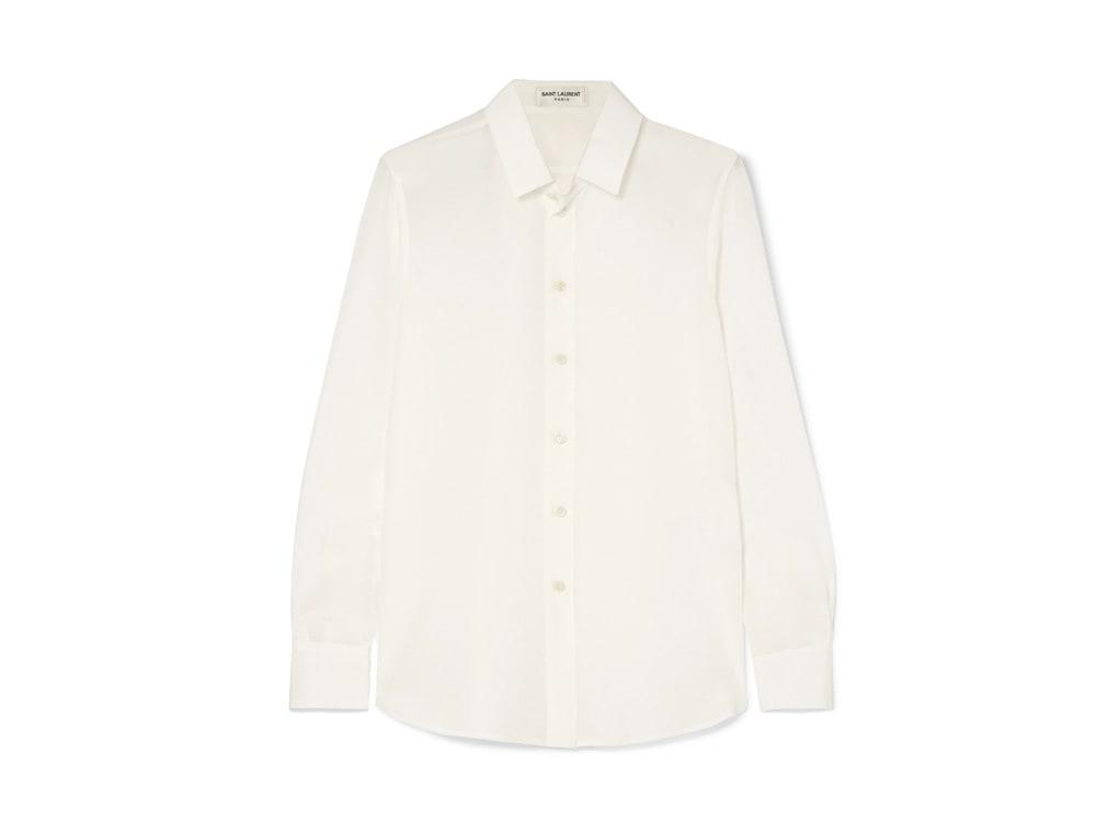 camicia-in-seta-bianca-saint-laurent-net-a-porter