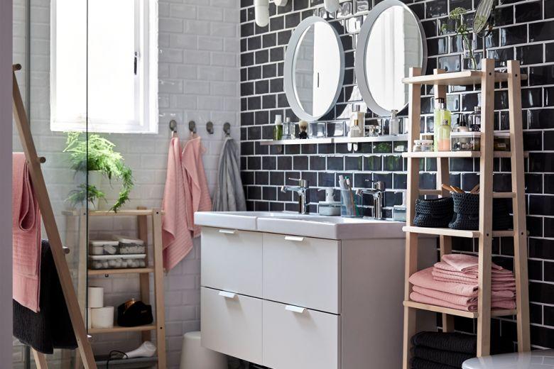 Bagno IKEA: 8 ambienti che vi faranno innamorare
