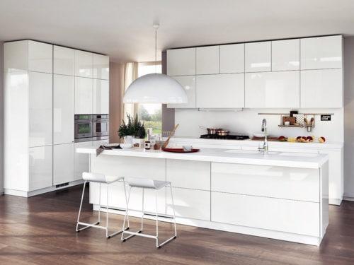 Idee originali per ravvivare una cucina bianca