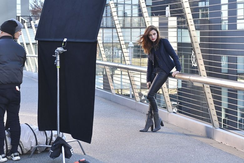 Trussardi Sound of Donna: il backstage del video con Annalisa