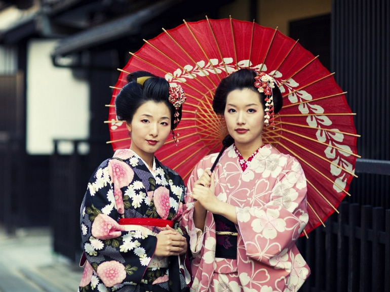 geisha roma