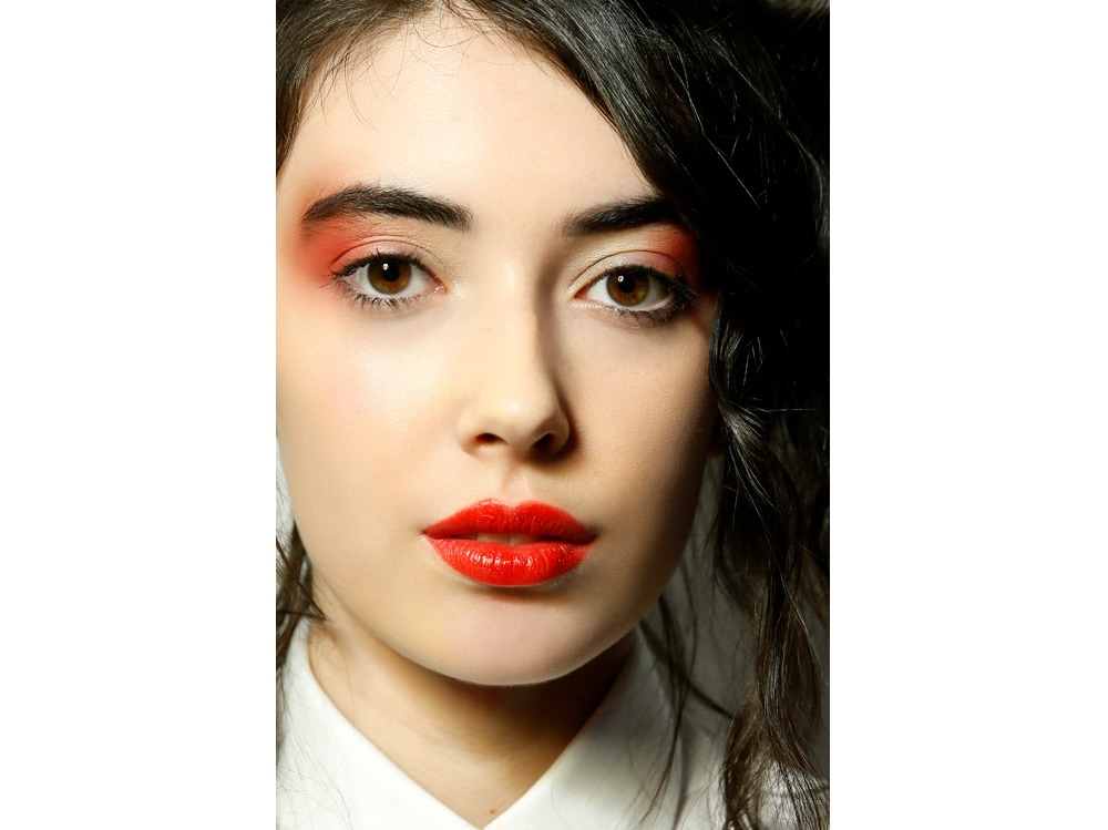 labbra rosse tendenza make up autunno inverno 2018 2019 (10)