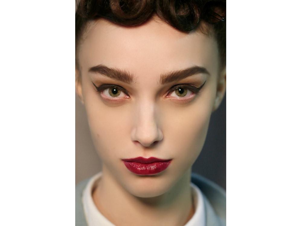 labbra rosse tendenza make up autunno inverno 2018 2019 (8)
