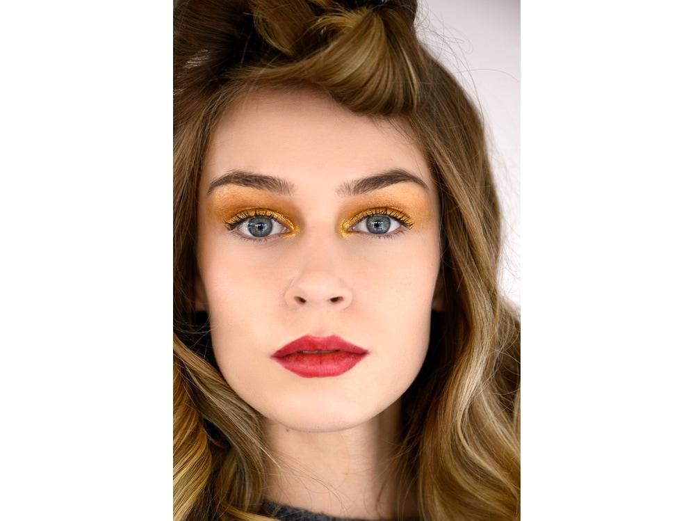make up gold trucco oro AI 2018 2019 (9)