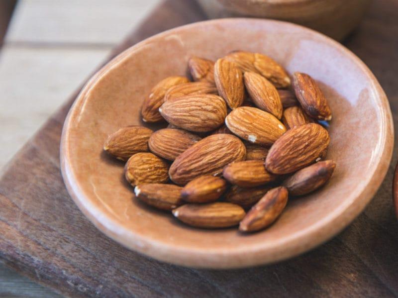 mandorle frutta secca fichi olive