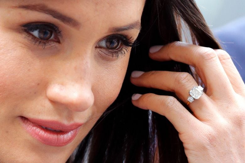 Volete l'anello di fidanzamento di Meghan Markle? Costa 30 sterline