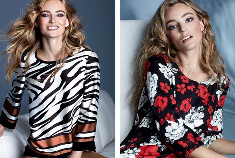Glamour e charme per la nuova collezione Carla Ferroni