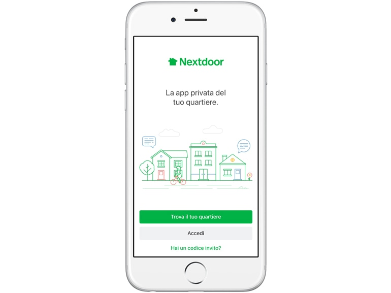 nextdoor app copia