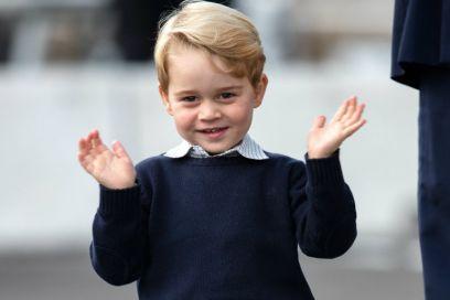 Gli amici del Principe George devono superare un controllo di sicurezza per giocare con lui
