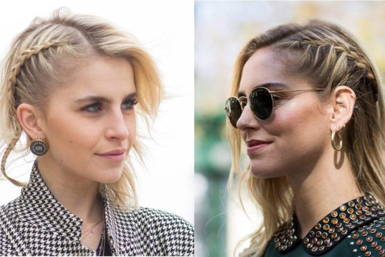 Le trecce laterali sono l'hairlook più amato da star e influencer